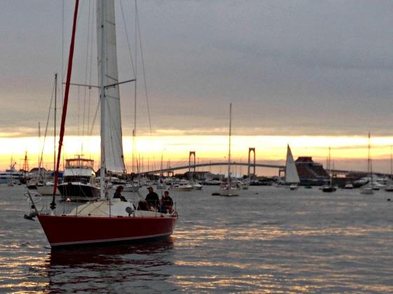 Erica's Last Sail Before the Veil: Rum Runner