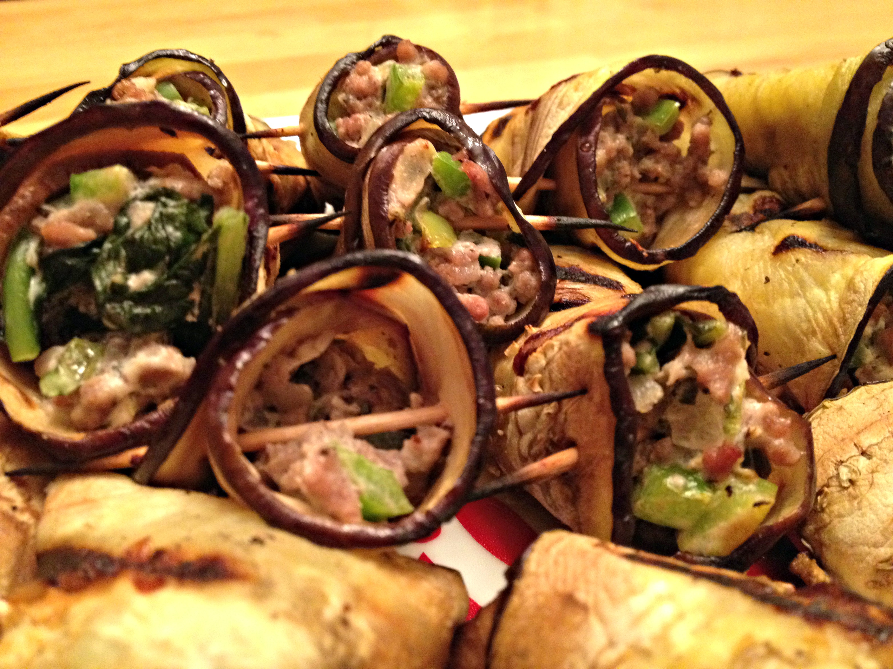 Eggplant Rollatini With Goat Cheese And Pesto Recipes — Dishmaps