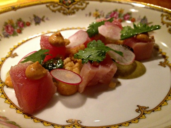 Maine Vacation: Hugo's Yellowfin Tuna