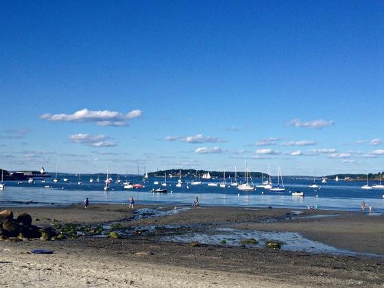 Maine Vacation: Willard Beach