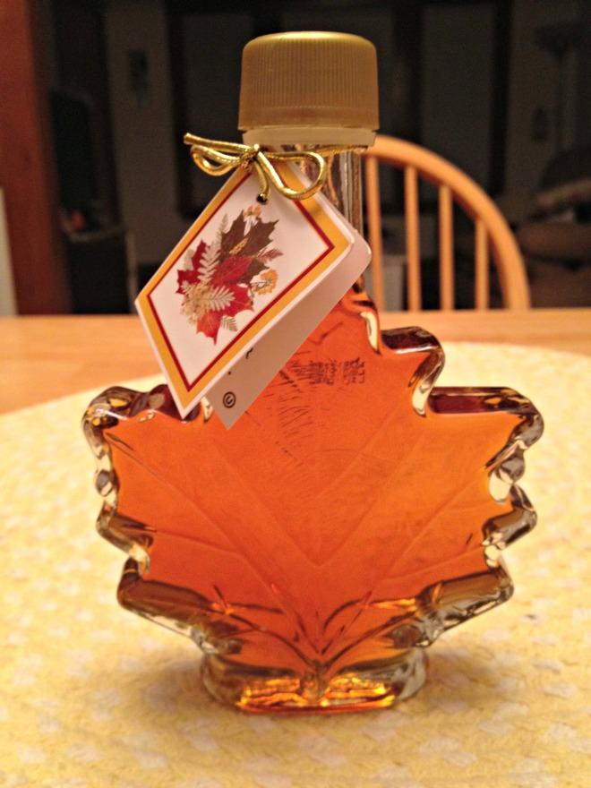 Lightened Up Apple Crisp: Canadian Maple Syrup
