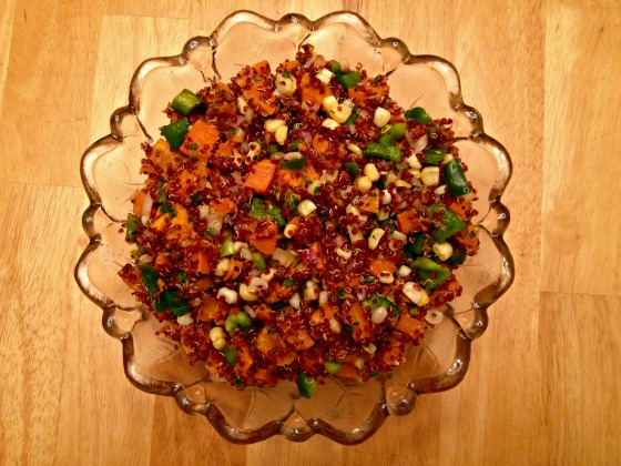 Sweet Potato Quinoa with Thai Chili Dressing