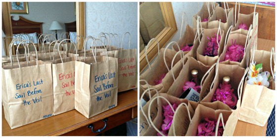 Erica's Last Sail Before the Veil: Party Bags