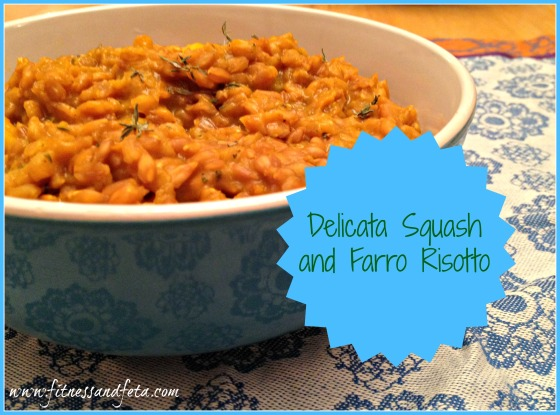 Delicata Squash and Farro Risotto