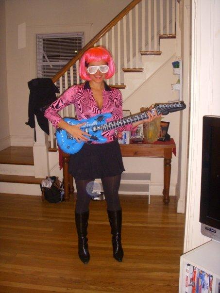 Halloween: Rockstar Costume