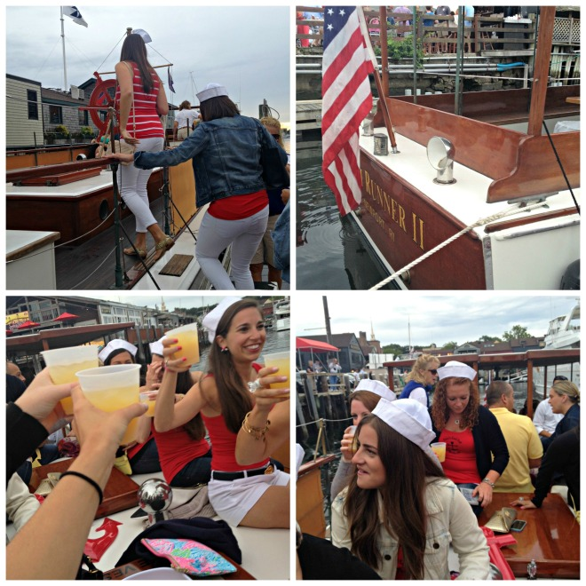 Erica's Last Sail Before the Veil: Rum Runner