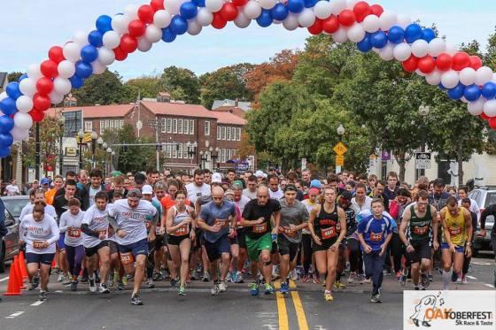 Oaktoberfest Race & Taste: Start