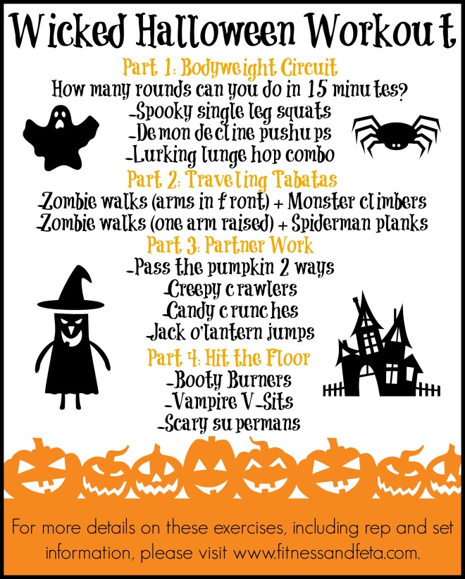 A Wicked Halloween Workout