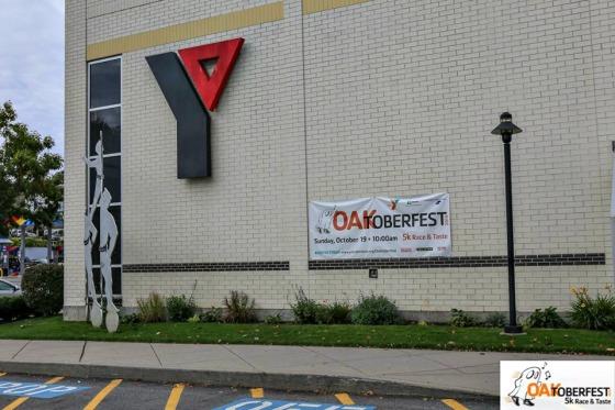 Oaktoberfest Race & Taste: Y Sign