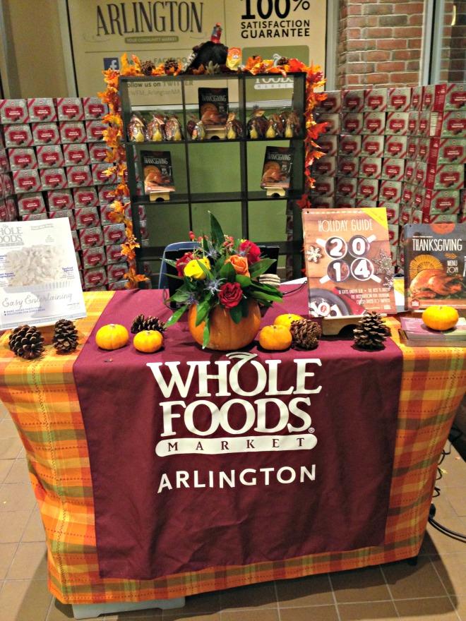 Whole Foods Arlington: Holiday Food Menu