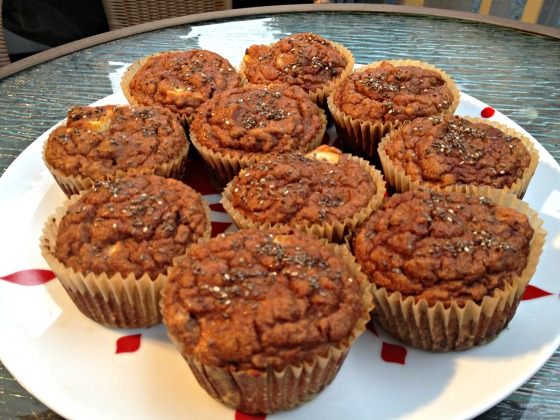 Grain free apple cinnamon muffins