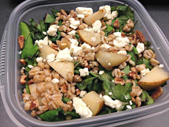 Kale + Pear Salad