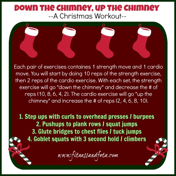 Down the Chimney, Up the Chimney Christmas Workout