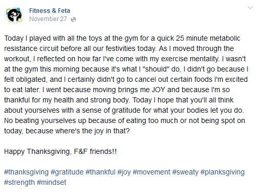 Body Gratitude