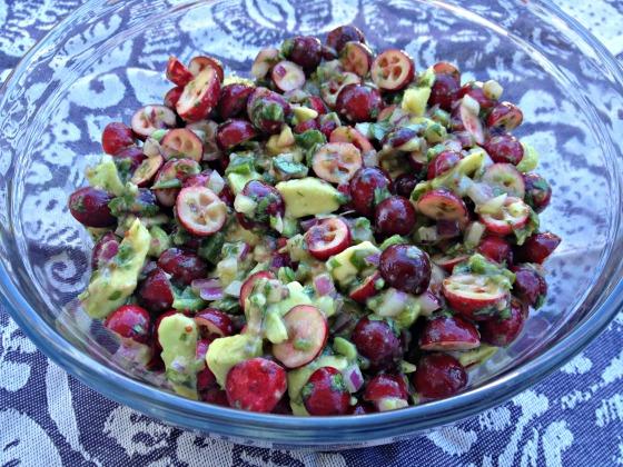 Cranberry Avocado Salsa
