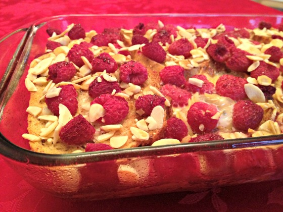 Healthy french toast casserole