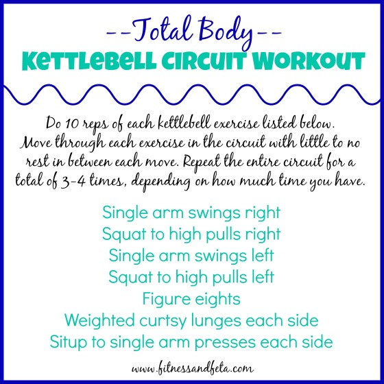 total body kettlebell circuit