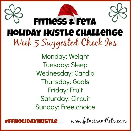 Week 5 Check Ins